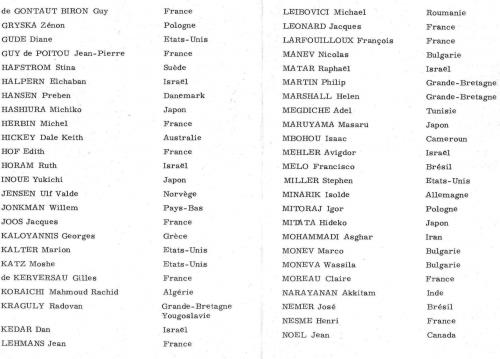 OEUVRES DE 150 RESIDENTS 40 NATIONS 3/4